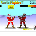 Santa fighter free online game